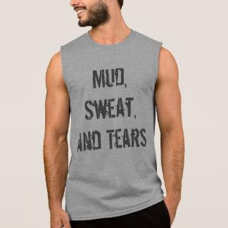 2013 mud run sleeveless shirt