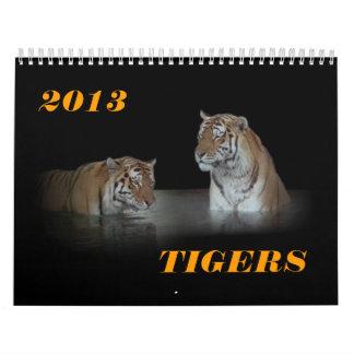 """2013 """"TIGERS"""" Calendar"""