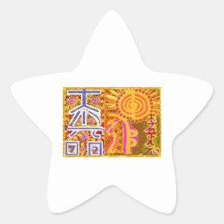 2013 ver. REIKI Healing MASTER Symbols Star Stickers