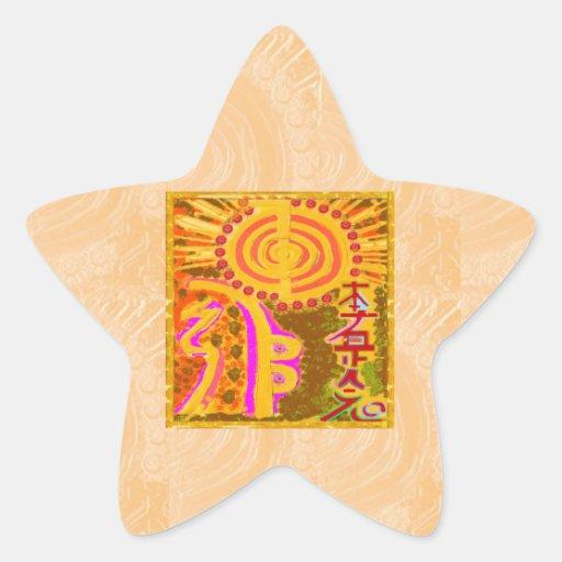 2013 ver. REIKI Healing Symbols Stickers