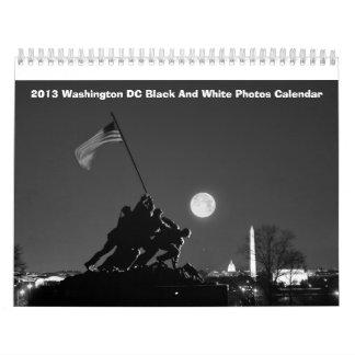 2013 Washington DC Black and White Photos Calendar