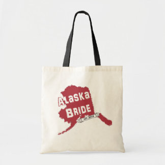 2014 AK Bride Map Tote in Red