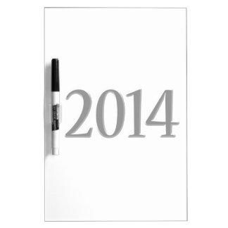 2014 Black 3D Graduation Dry Erase Board