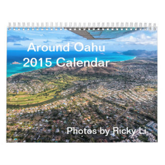 2014 Calendar - Around Oahu