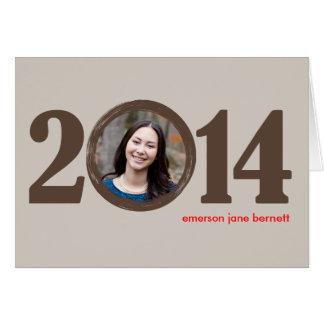 2014 Graduation Notecard Note Card