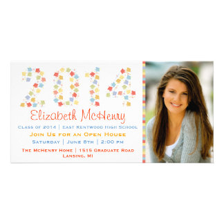 2014 Graduation Photo Card Invitation III