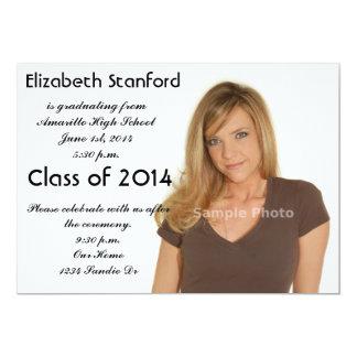 2014 Photo Graduation Invitation