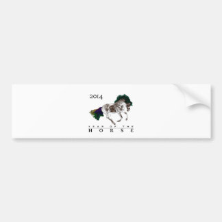 2014 Year of the Horse note Card Bumper Sticker