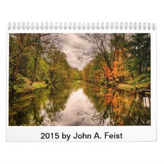 2015 Calendar by John A. Feist