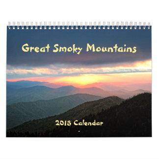 2015 Great Smoky Mountains Calendar