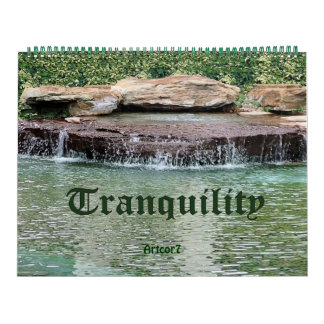 2016 Calendar Cascade Tranquility Huge Two Page