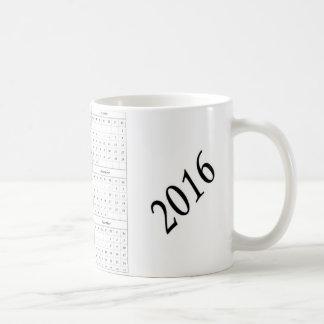 2016 Calendar Mug