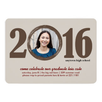 2016 Graduation Invitation