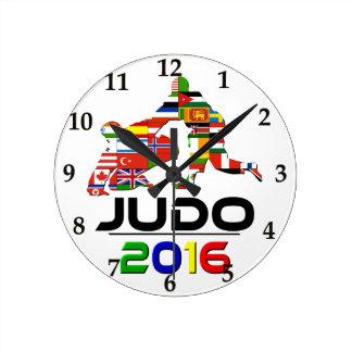 2016: Judo Round Clock