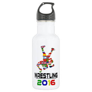 2016: Wrestling 532 Ml Water Bottle