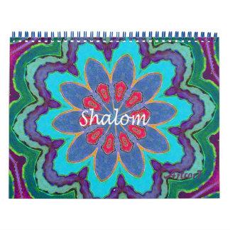 2017 Calendar Shalom Lace Mandala Standard 2 Page