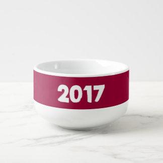 2017 HAPPY NEW YEAR editable text Template diy Soup Mug