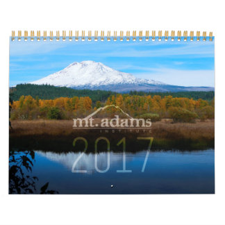 2017 Mt. Adams Institute Calendar