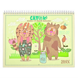 2018 The Zodiac Cats Calendar