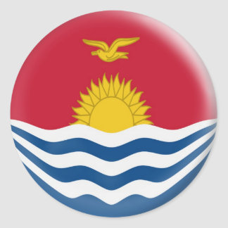 20 small stickers Kiribati flag