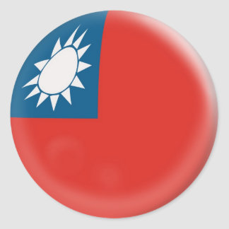 20 small stickers Taiwan Taiwanese flag