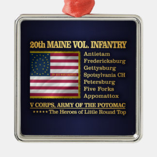 20th Maine Volunteer Infantry (BH) Christmas Ornament
