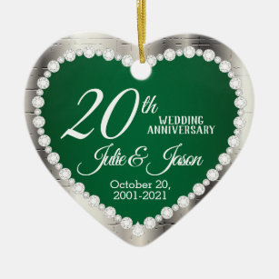 Happy Couple 20th Anniversary Gifts On Zazzle Nz