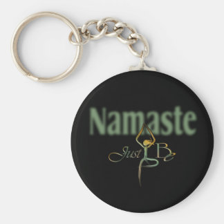 21 Namaste Key Ring