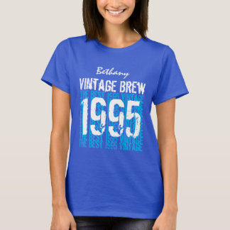 21st Birthday Gift 1995 or Any Year Navy Blue T-Shirt