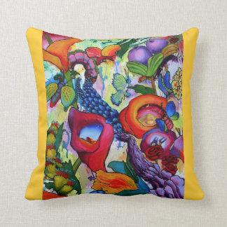 2238 We Have Butterflies cushion - Crocus