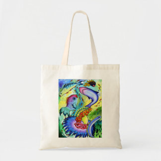 2263 Fish In Our Garden Tote bag