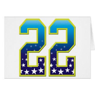22 Age Star Card