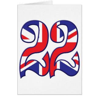 22 Age UK Greeting Card