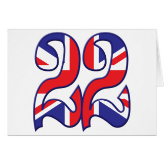 22 Age UK Greeting Card