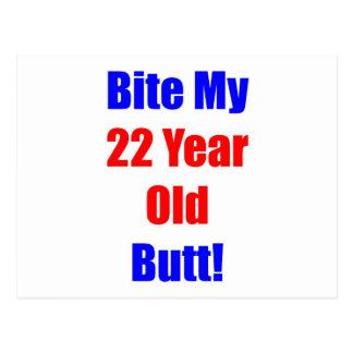 22 Bite My Butt Postcard