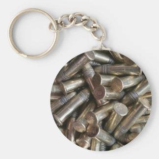 22 Caliber Bullets Key Ring