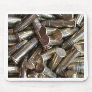 22 Caliber Bullets Mouse Pad