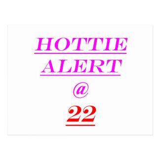 22 Hottie Alert Postcards