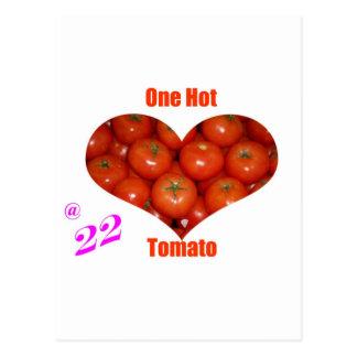 22 One Hot Tomato Postcards