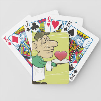 22waiter bicycle playing cards