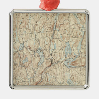 23 Carmel sheet Silver-Colored Square Decoration