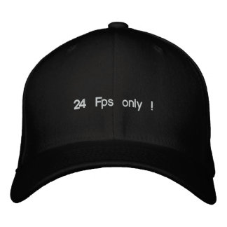 24 Fps only ! Embroidered Hat