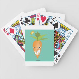 24k carrot reggae bicycle playing cards