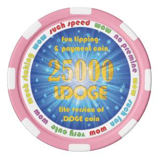 25000 LDOGE Poker Chip Poker Chips Set