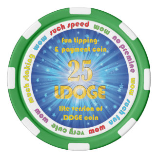 25 LDOGE Poker Chip