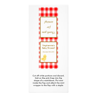 25 Mint Matchbook Red Barn Farm Animals Custom Rack Cards