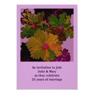 25 year anniversary card