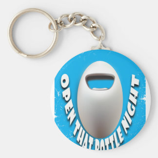 25th February - Open That Bottle Night Basic Round Button Key Ring