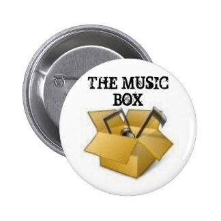 2635309384, THE MUSIC BOX 6 CM ROUND BADGE