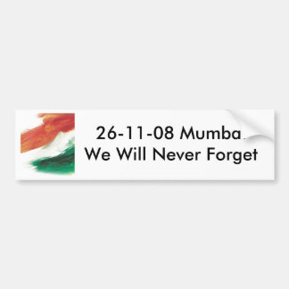 26/11 Mumbai Bumper Sticker